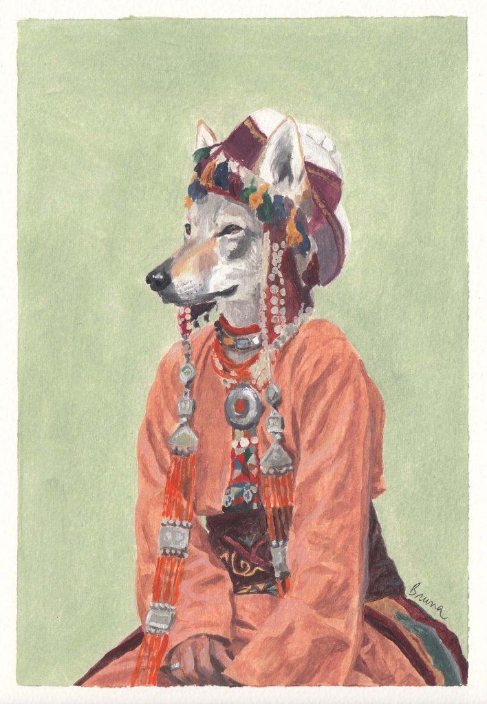 Mongolia-llop